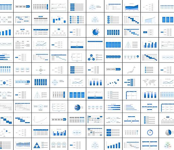 パワーポイント・グラフ・チャート